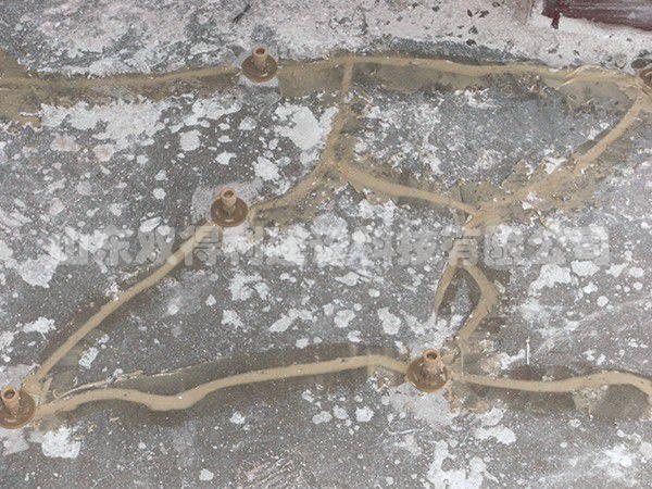 南山铝业电解铝车间通车走廊裂缝注胶雷竞技网站